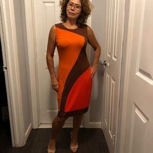 Calvin Klein Multicolor Dress